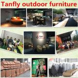 Uso impermeabile della mobilia del patio e presidenza pranzante materiale del rattan