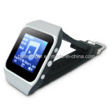 Bt/Pedometerのタッチ画面の腕時計MP4プレーヤー