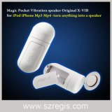Magic Pill Pocket Mini Mobil Altifalante amplificador Mini som alto-falante