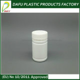 Бутылка капсулы круглой формы HDPE 80ml пластичная