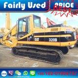 Máquina escavadora hidráulica usada Japão do gato 320b da máquina escavadora 320b da lagarta (escavador)