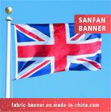 Национальный флаг 100% полиэфира напечатанный Британией дешевый