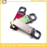 Impulsión especial del flash del USB de la llave del tigre del metal de encargo del botón