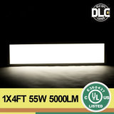 2015 최상 LED Flat Panel Light 1X4ft 63W 100-277VAC UL Dlc Standard
