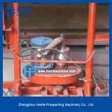 アフリカの市場で働く携帯用および容易なオペレーション・モデルHf150eの井戸の掘削装置