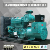 100kVA 50Hz ouvrent le type groupe électrogène diesel actionné par Cummins