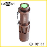 Tocha impermeável do diodo emissor de luz da aventura telescópica modelo do foco 3 (NK-628)