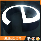 Signes acryliques d'éclairage LED de la publicité extérieure