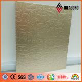 3003 laminati a freddo hanno impresso il comitato composito di alluminio decorativo della parete interna
