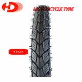 Modelo caliente de la venta del neumático 2.75-17 del neumático de la motocicleta/de la motocicleta