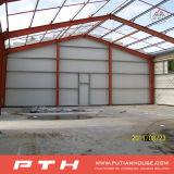 Construction préfabriquée de structure métallique de pente simple pour le garage