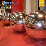 Eventos Festival Escenario decorativos Bolas de espejos Mini Disco inflable bola de espejo del oro