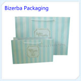 L'abitudine ha stampato il sacchetto di elemento portante di lusso di acquisto del documento del regalo del Kraft con la maniglia del cotone (BP-BC-0033)