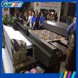 기계를 인쇄하는 3D 디지털 직접 면 또는 실크 또는 폴리에스테 직물을 구르는 두 배 4 색깔 Garros 롤