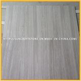 Suelo de mármol de piedra de madera de madera gris del cuarto de baño y de la cocina de China /Athen