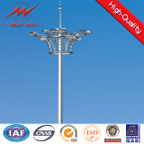 Lifting Systems를 가진 15-30m Q345 Customized Galvanized High Mast 폴란드