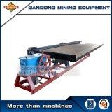 Minerai de densité séparant secouant le concentrateur minéral de vibration de bâti (6-S)
