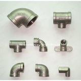 ステンレス鋼の管付属品のための失われたワックスの鋳造