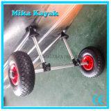 Вагонетка тележки колеса песка пляжа складного складного Kayak раздувная