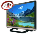 24-Inch Super Slim Fernsehapparat Analog DVB-T Tuner Optional 1920 x WS-Gleichstrom-12volt Full HD LED Pixels 1080 Resolution Multi OSD Lauguages