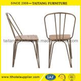 レストランおよび棒のための金属の鉄の椅子