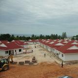 Chambre durable de luxe de restauration de villa de structure métallique en Mozambique