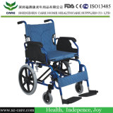 يدويّة يعاق فولاذ عمليّة عبور كرسيّ ذو عجلات