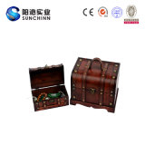 Wooden decorativo Treasure Box per Storage
