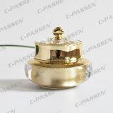 30g 50gの化粧品の包装のための贅沢な金の王冠のアクリルのクリーム色の瓶(PPC-NEW-005)