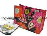 Sacchetto tessuto pp su ordinazione della laminazione di promozione della stampa (my07182)