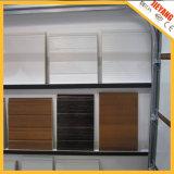 Porta seccional de garagem com interior de espuma de poliuretano