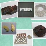 Tipo caliente cortadora del pórtico de la venta del laser de la fibra del CNC del metal