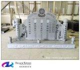 Серый памятник таможни китайского типа гранита G633