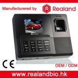 Sistemas do tempo e do comparecimento da impressão digital de Realand