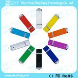 Movimentação relativa à promoção barata quente do USB do plástico 8GB do presente com logotipo (ZYF1843)