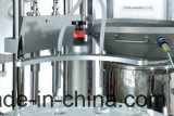 Máquina tampando de enchimento de engarrafamento do frasco líquido farmacêutico automático da medicina
