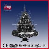 Delicate Ornaments Umbrella Base를 가진 눈이 내리는 Christmas Tree