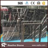 白の価格のNero安いMarquinaの黒い大理石は平板を張りめぐらす