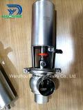 Válvula neumática sanitaria de la revocación del acero inoxidable