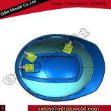 Stampaggio ad iniezione di plastica del casco di sicurezza