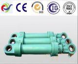De telescopische Hydraulische Cilinder van de Metallurgie van de Mijn