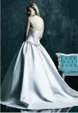 Мантия платья венчания lhbim сатинировки Lace-up задняя Bridal (Dream-100032)