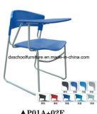 Silla popular de la oficina de la silla de la escuela con la tarjeta de escritura
