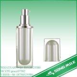 50mlは化粧品のためのローションのクリーム色の空気のないびんを電気めっきする
