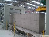 Het gesteriliseerde met autoclaaf Geluchte Concrete Project van de Lopende band