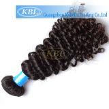 Qualitäts-Jungfrau-brasilianisches lockiges Haar