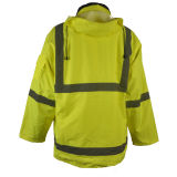 Oxford 3 in 1 Gele Weerspiegelend van de Jasjes van de Veiligheid Beschermende