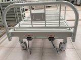 (A-132) Movable Manual Doble-Function Hospital Bed con el Plástico-Sprayed Bed Head