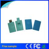 Kundenspezifisches Zeichen-Drucken-MiniKreditkarte USB-Blinken-Laufwerk