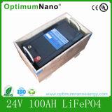 Baterias de venda quentes de 24V100ah LiFePO4